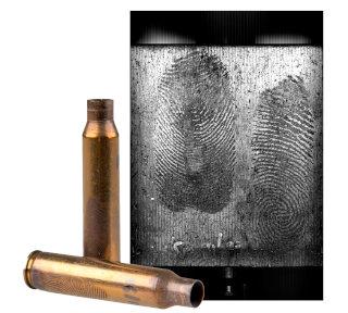 Fingermarks on empty cases.